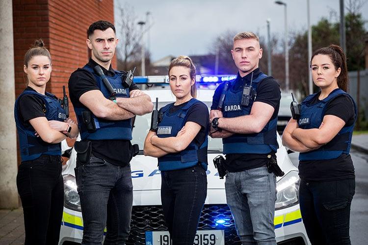 Guards, TV, Series, Still, Police, Guardai