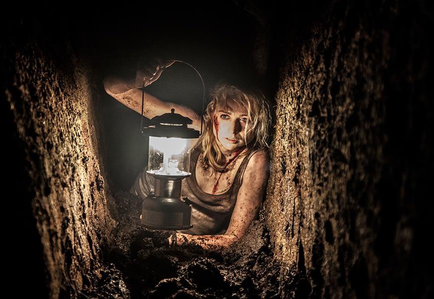 bog, lantern, horror, blood, woman, photographer Dublin