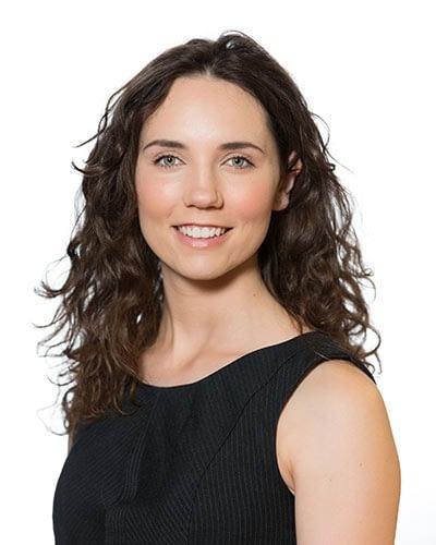 Headshot, woman, white, on site, professional