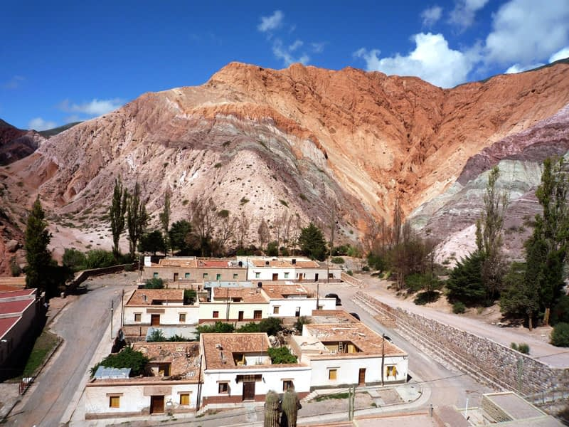 Travel Photographer, purmamarca, Argentina, 7 colours, mountains, different shades