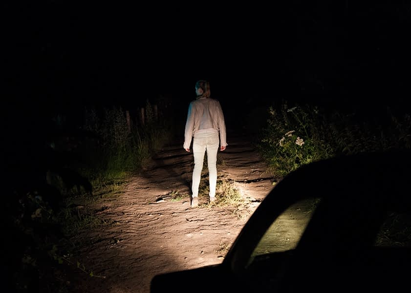 Car, film, stills, photographer, night, horror