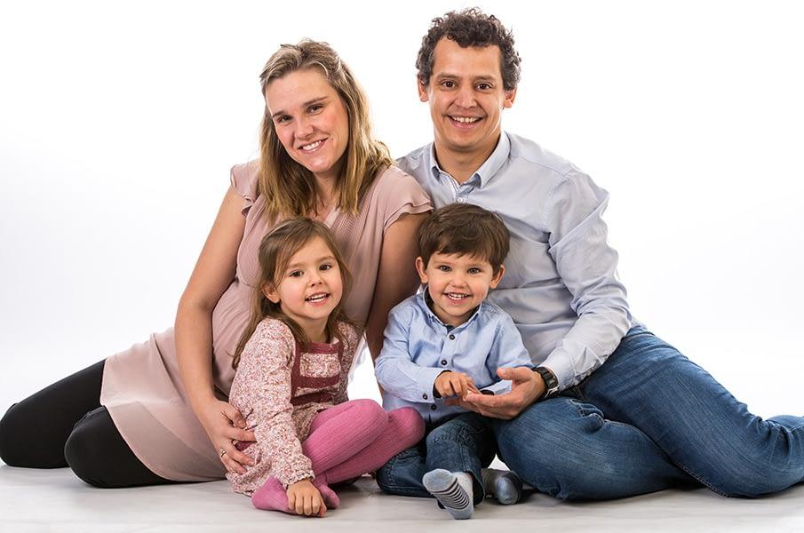 Family, studio, photograph, portrait, dublin