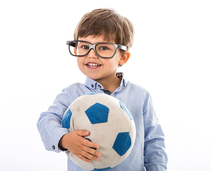 Boy, glasses, portrait, studio, dublin, football