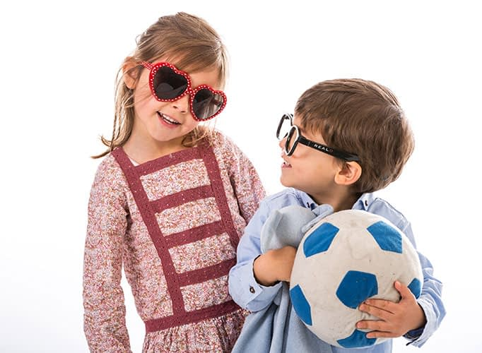 Advertising photographer, kids, boy and girl, clothing campaign, studio dublin