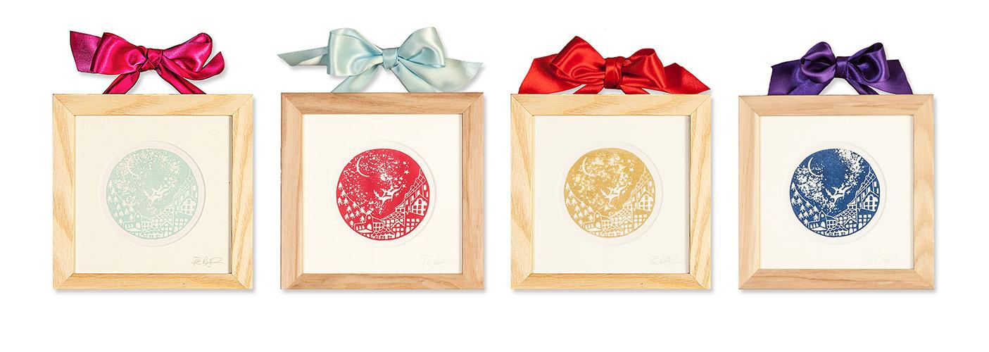 Christmas, frames, screen, print, Dublin, product photography, Dublin