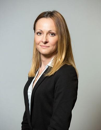 headshot, grey, business woman, corporate
